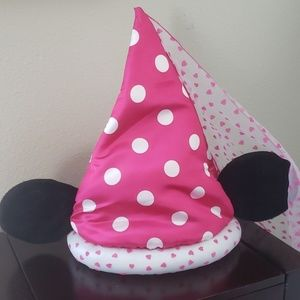 Minnie Ears Princess Medieval Style PINK Hat